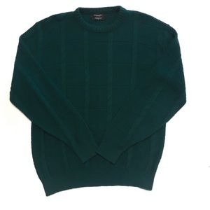 Christian Dior | Green Knit Vintage Cozy Sweater L